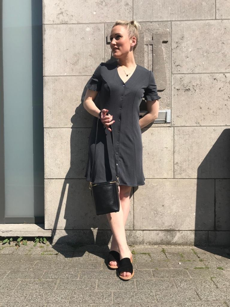 Wearable Stories - emmy black summer dress