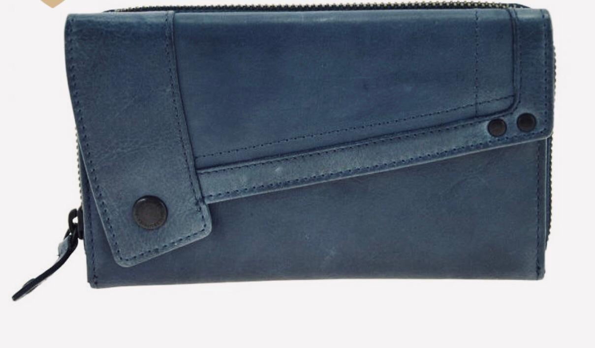 Aunts & Uncles - large lotta wallet blue, black, olive grey, dark grey (stone), light grey (morning grey)