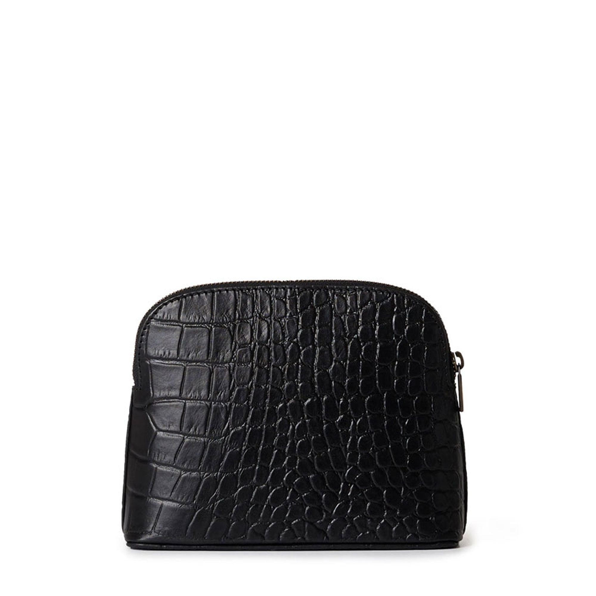 O My Bag cosmetic bag black/croco classic leather