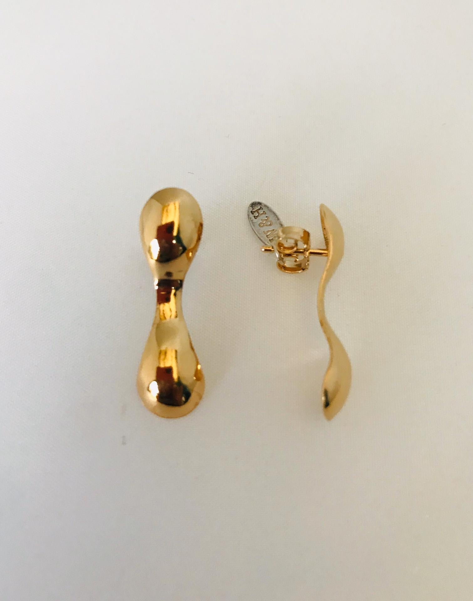 Wouters & Hendrix - gold plated earrings
