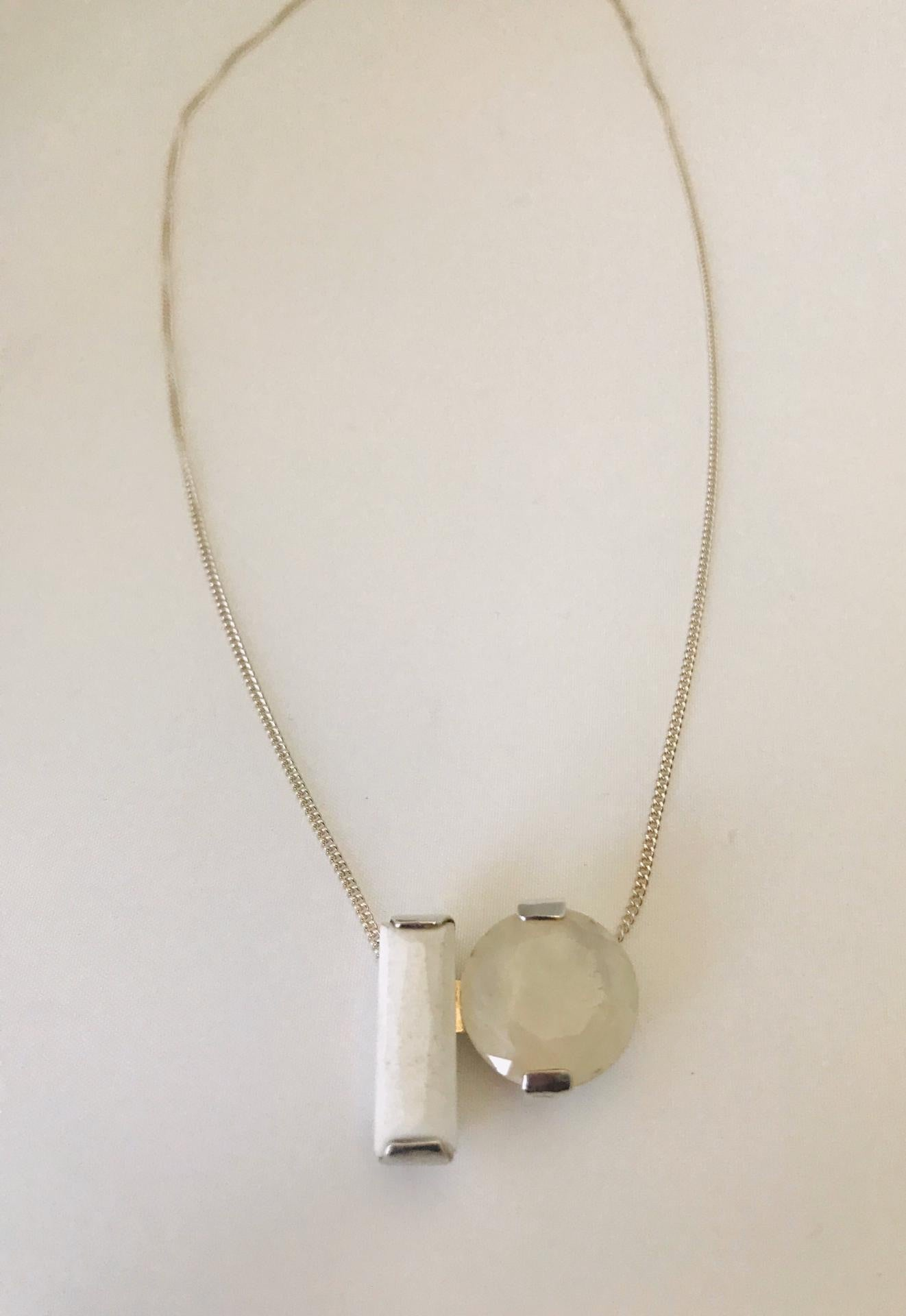 Wouters & Hendrix - silver moonstone necklace