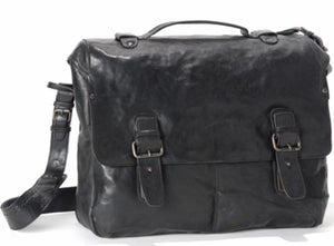 Aunts & Uncles - the smart chaps Karl XL black briefcase