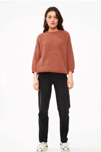 By-Bar Milou susi pullover copper