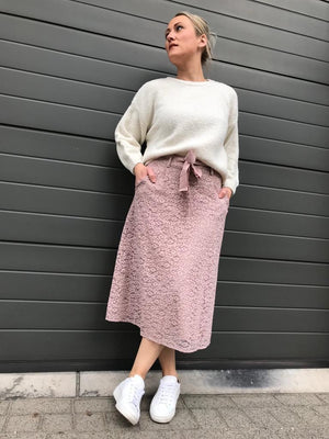Rosemunde - skirt vintage powder