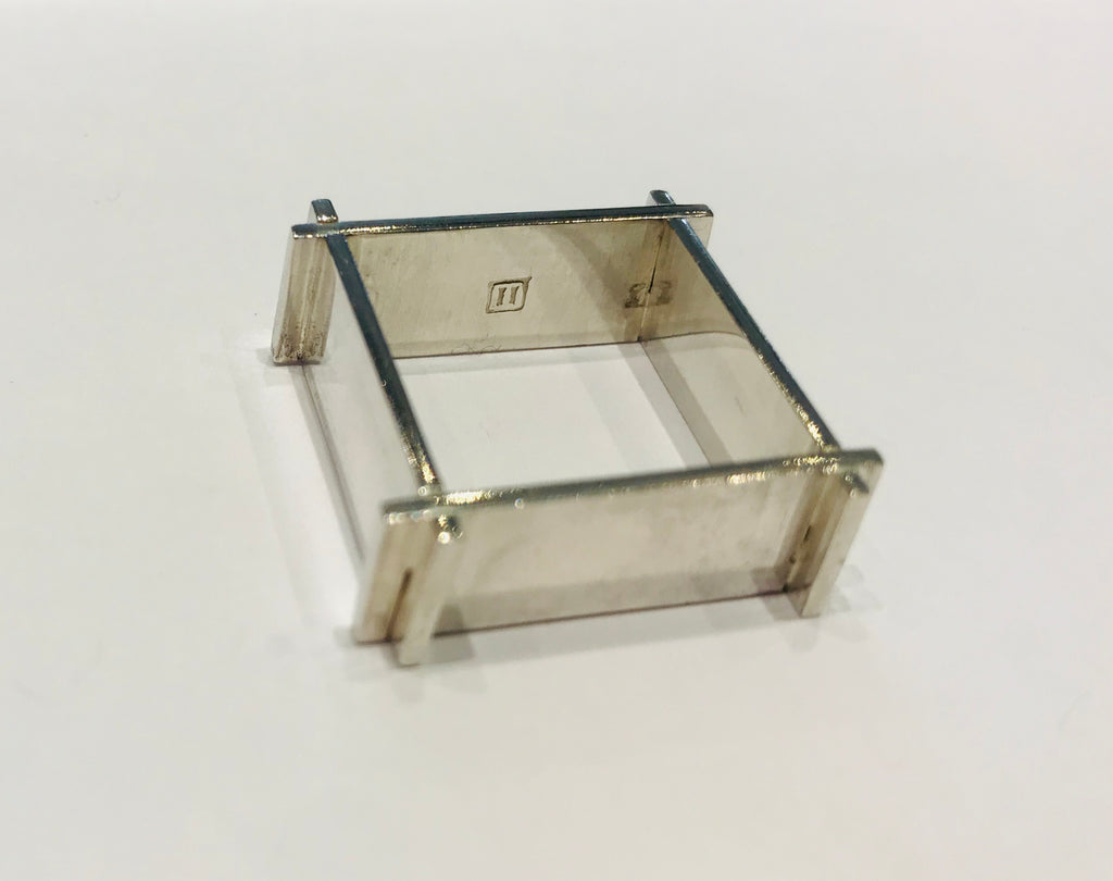 Atelier Elf Silver ring square
