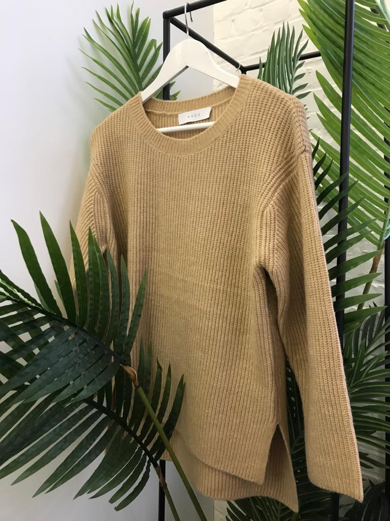 Kaos - beige sweater