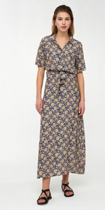 By-Bar Liz bombay dress blue