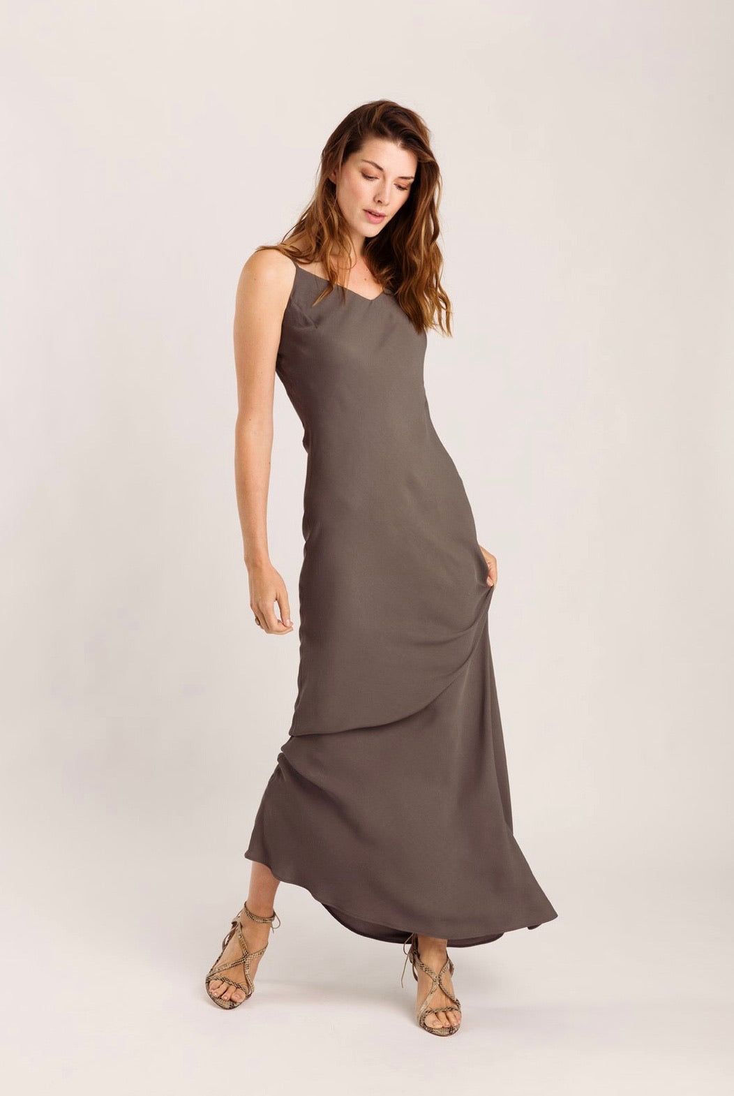 Wearable Stories Elise Dress anthracite