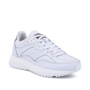 Woden sneaker sophie leather bright white