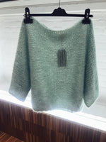 Made By Vest - light green luxury knitwear