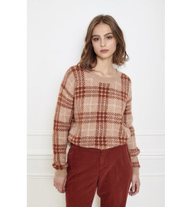 MKT studio sweater kiroti knit blush