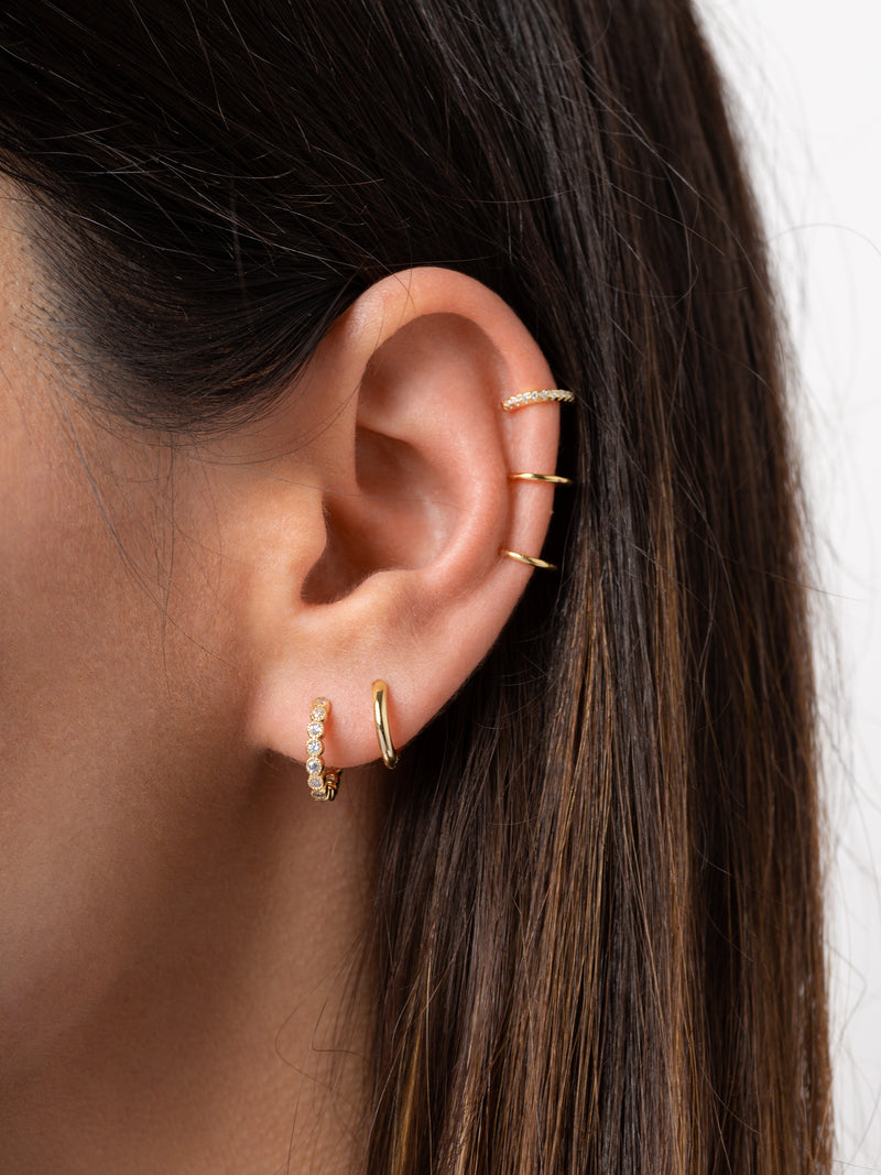 Triple Pavé Ear Cuff