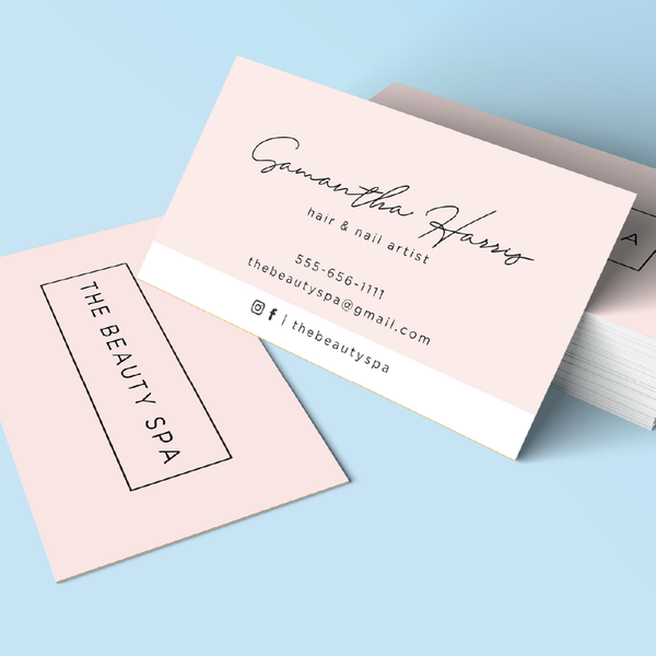 2 Sided Name Card Printing | Business Card | AE Stamp