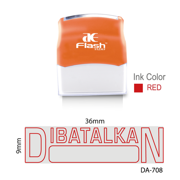 Dibatalkan (Two Colour)