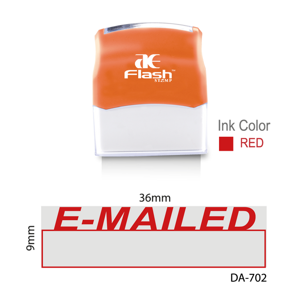 Emailed Stamp (Two Colour)
