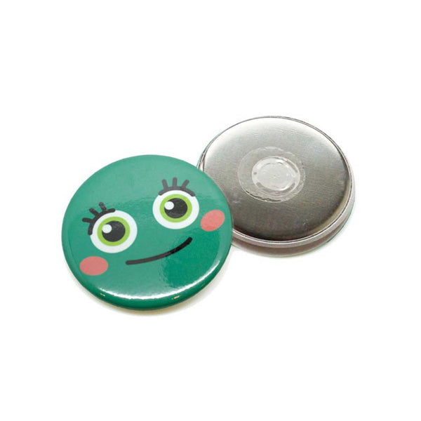 Magnet Button badge, suitable to be used as fridge magnet