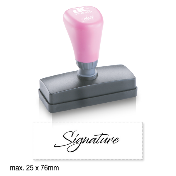 Medium Pre-Inked Signature Stamp