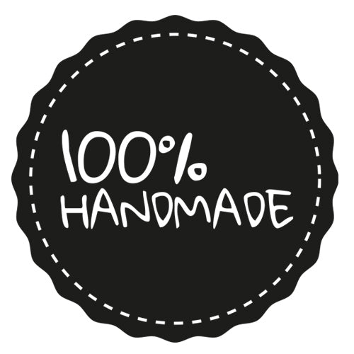 100% Handmade - Badge