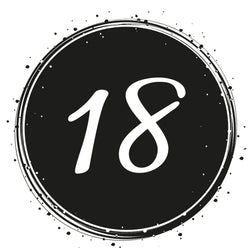 Birthday 18 - Badge