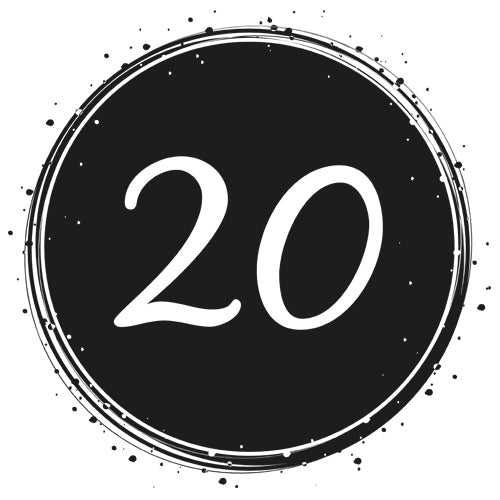 Birthday 20 - Badge