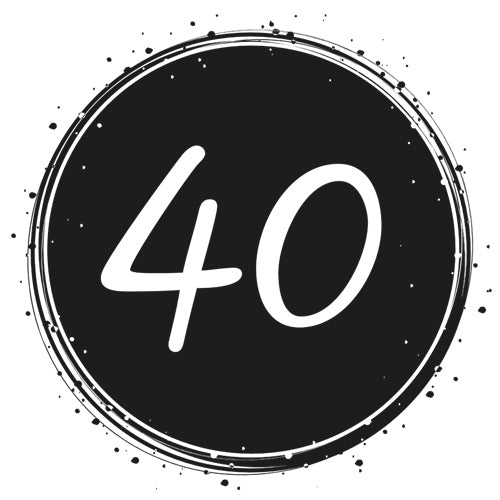 Birthday 40 - Badge