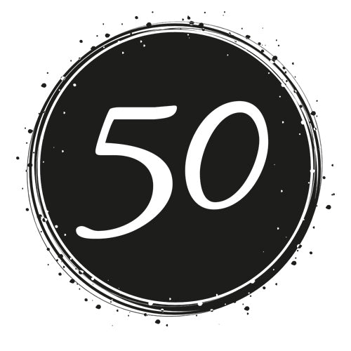Birthday 50 - Badge