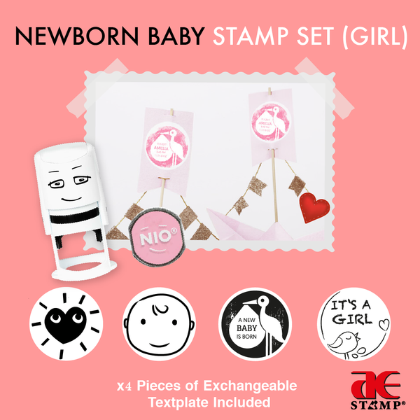 NIO Newborn Baby Girl Set