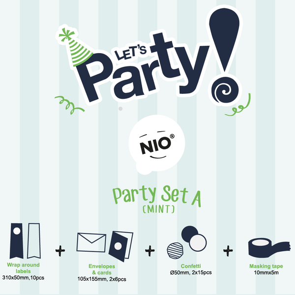 NIO Party Set A (Mint)