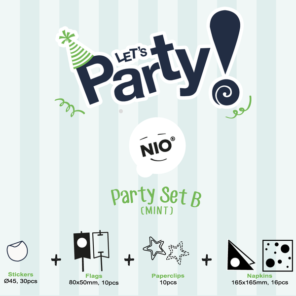 NIO Party Set B (Mint)
