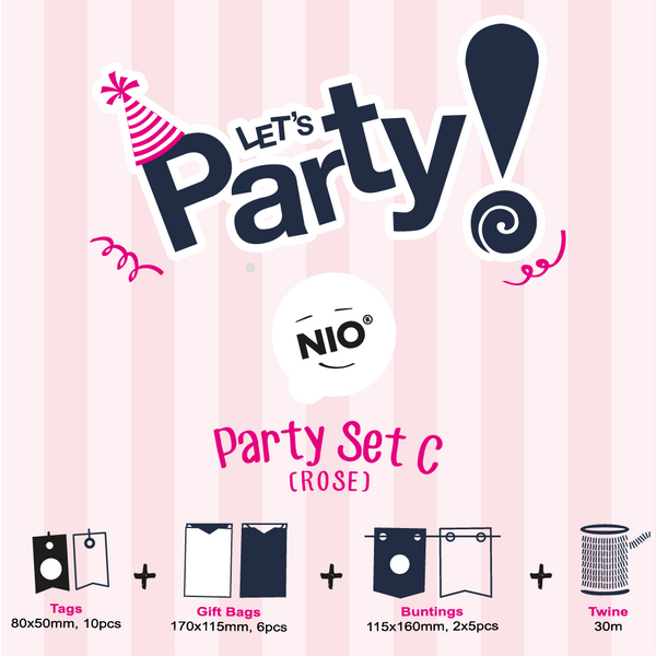 NIO Party Set C (Rose)