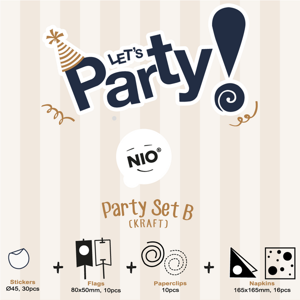 NIO Party Set B (Kraft)
