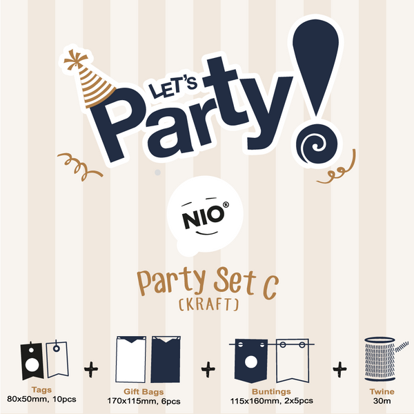 NIO Party Set C (Kraft)
