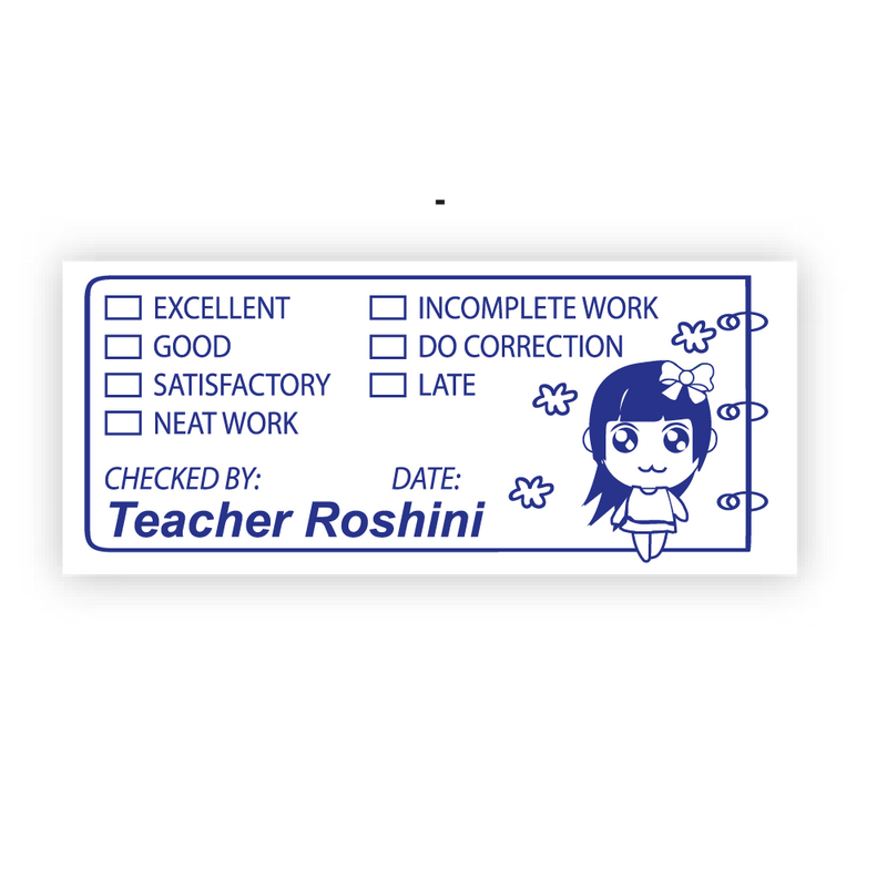 Teacher Review Stamp - Design 15