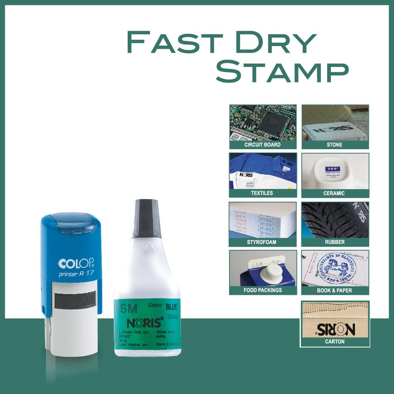 Fast Dry Self Inking Stamp - R17