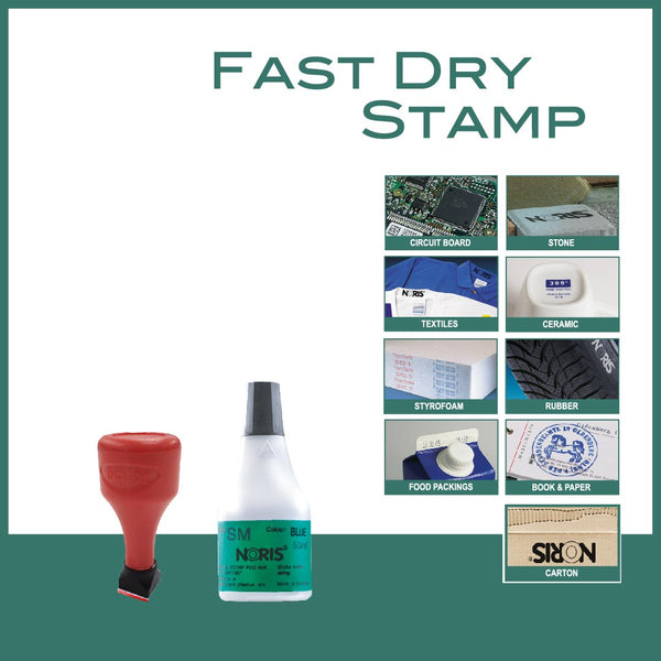 Fast Dry Rubber Stamp - RS1313