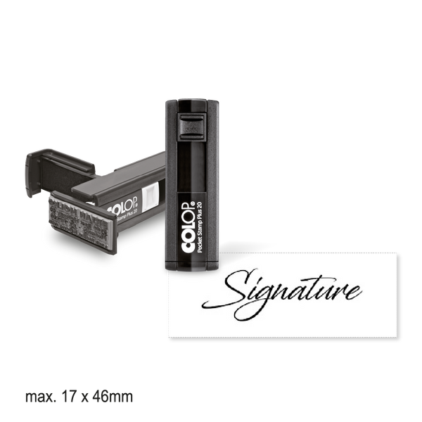 Pocket Sized Signature Stamp