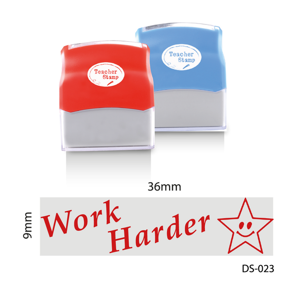 Work Harder Stamp