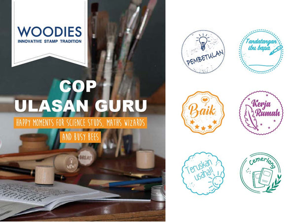 Cop Ulasan Guru Woodies Set | Limited Edition