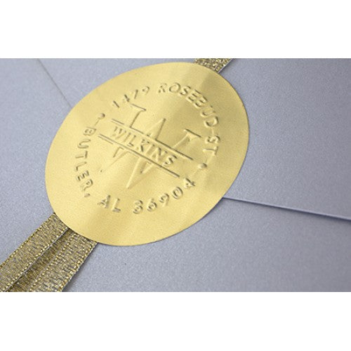 Embossing Gold Label