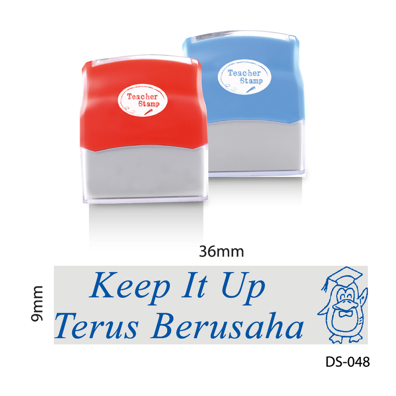 Keep It Up, Terus Berusaha