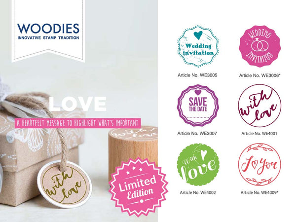 Woodies Love Stamp Box Set | Limited Edition