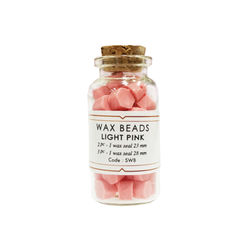 Light Pink Wax Beads