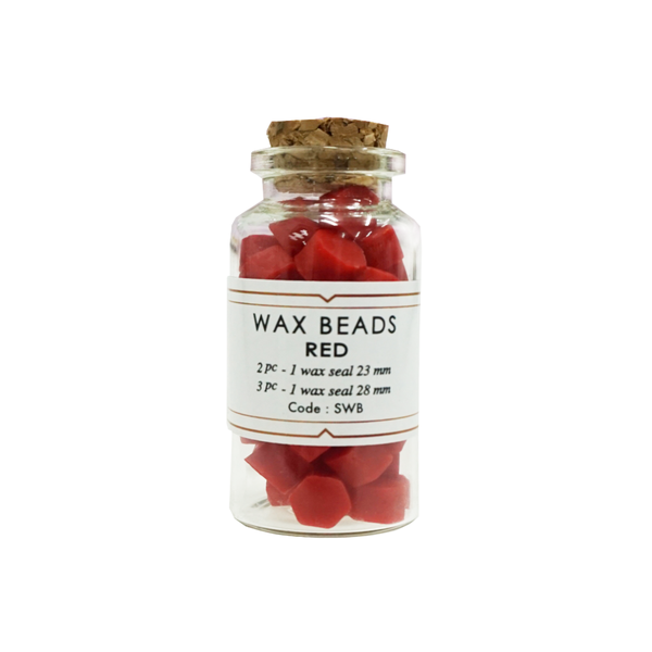 Red Wax Beads