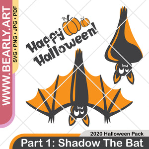 2020 Halloween Pack : Part 1 - Shadow The Bat
