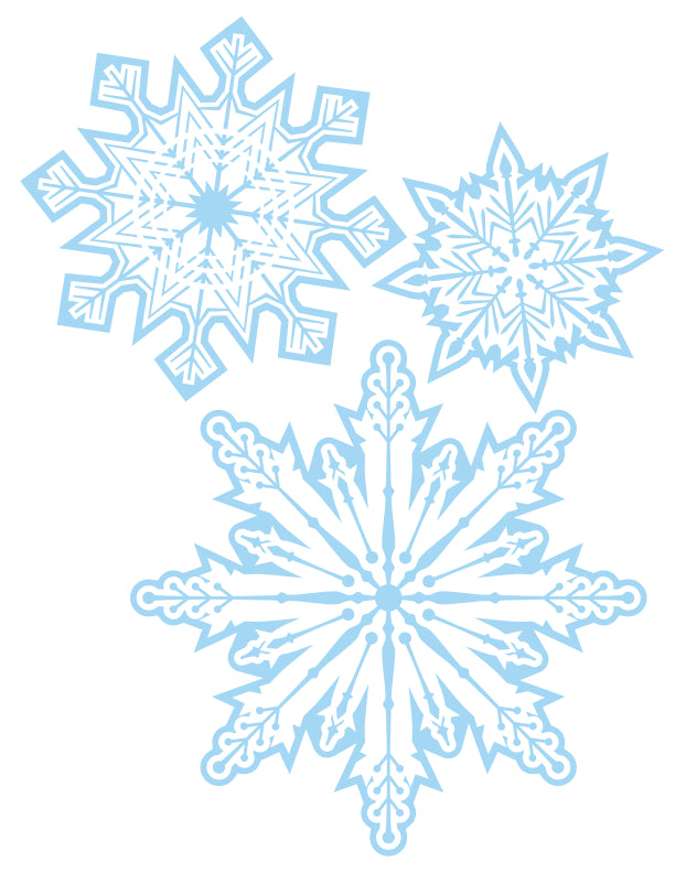 2020 Winter Pack - Snowflakes