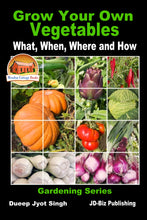 Load image into Gallery viewer, Grow Your Own Vegetables - What, When, Where and How