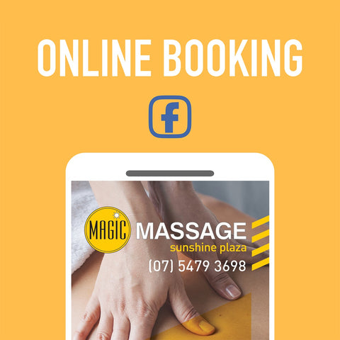 Booking Massage Online at Magic Massage Sunshine Plaza