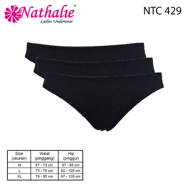 Nathalie Mini Basic Black Underwear NTC 429
