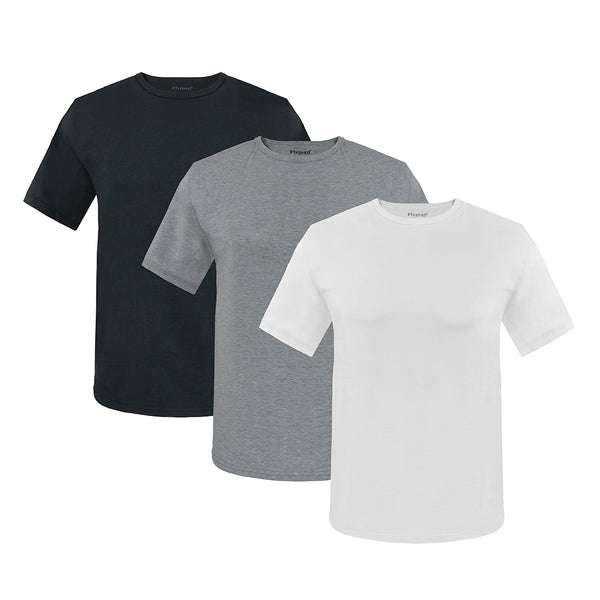 Flyman Men's Breathable Crew T-Shirt FMA 3078