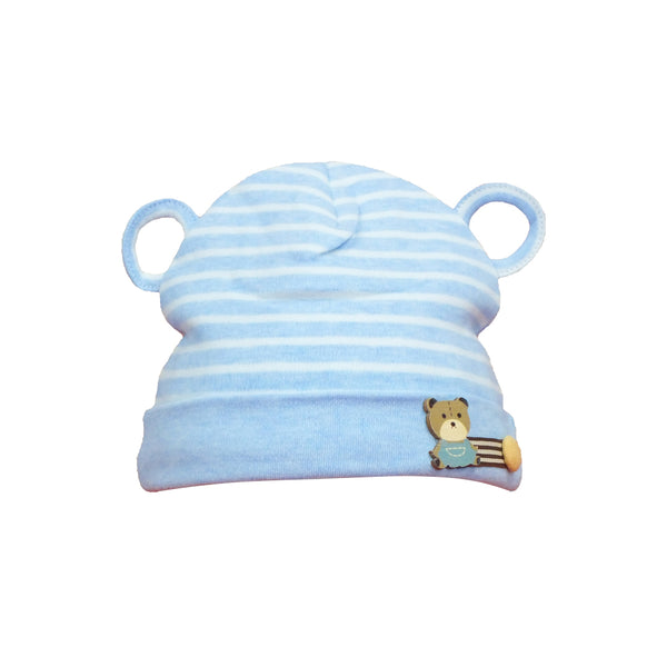 Nbaby Topi Bayi Lucu Striped Bear Beanie 1 PCS BCP 3318